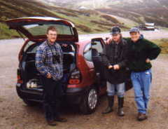 Glenshee, a few minutes after Ptarmigan!